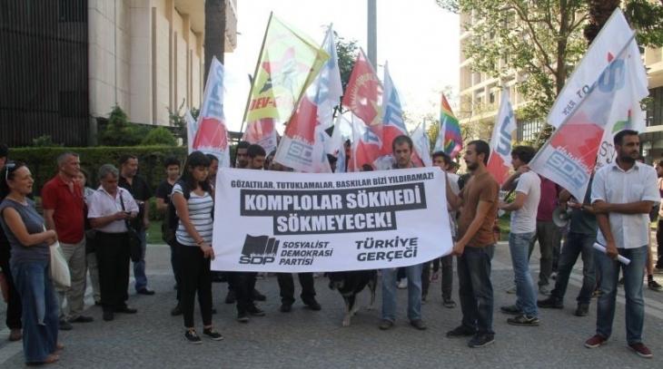 Gözaltına alınan  SDP'li tutuklandı