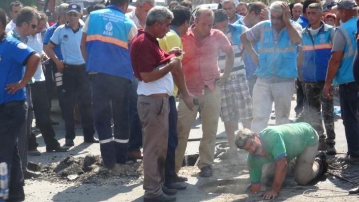 Rögara giren 2 ASKİ işçisi metan gazından öldü
