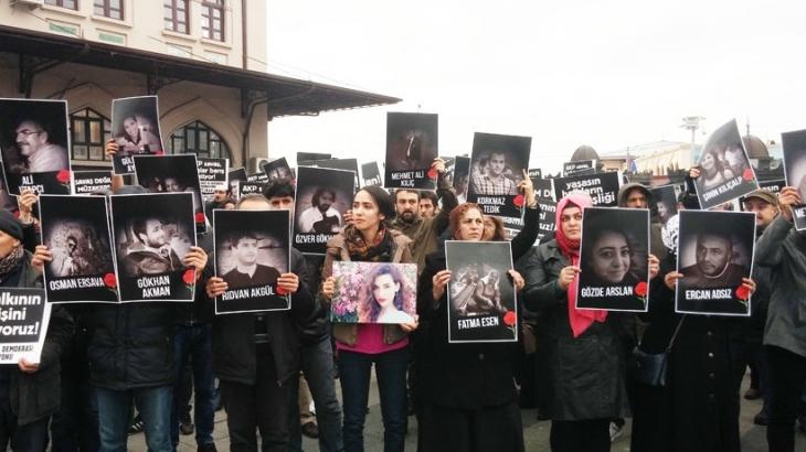 Ankara Katliamında hayatını kaybedenler Kadıköy'de anıldı