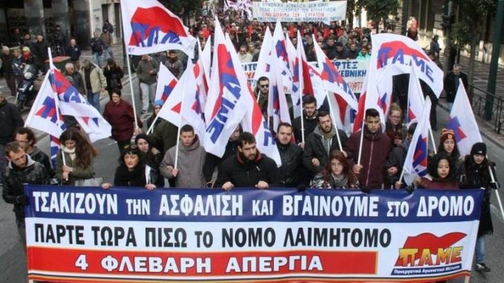 Yunanistan'da grev günü: SYRIZA'ya emekçilerin tepkisi büyüyor