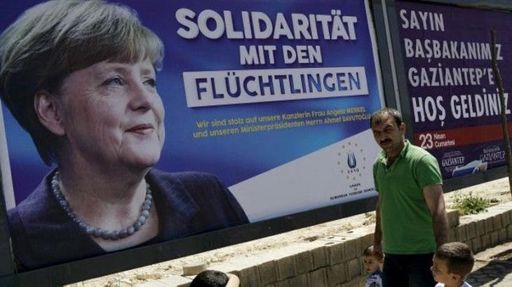 Merkel, Türkiye'ye geldi