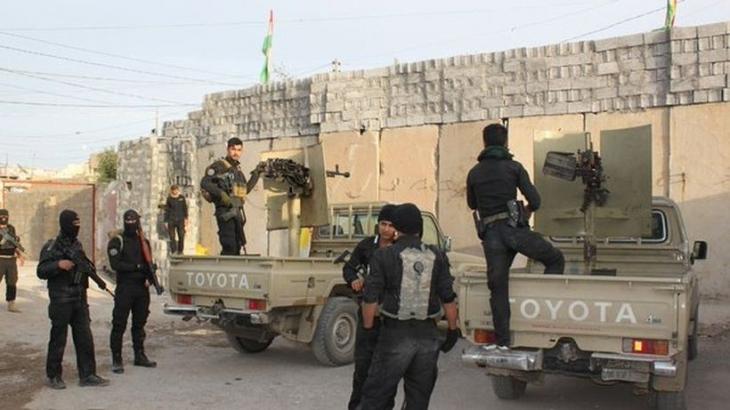 Tuzhurmatu'da Peşmerge ile Haşdi Şabi arasında çatışma