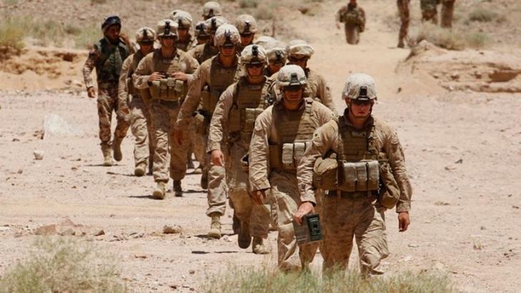 150 ABD askeri Rakka'nın kuzeyine gönderildi