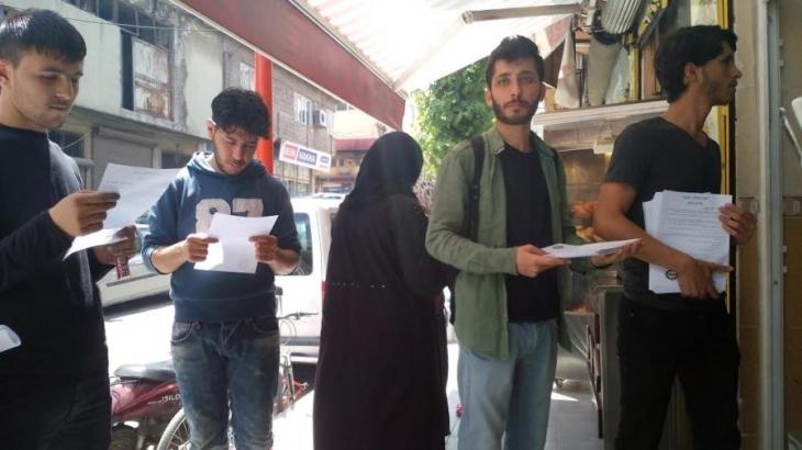EMEP, Suriyeli işçileri ana dilleriyle 1 Mayıs'a çağırdı
