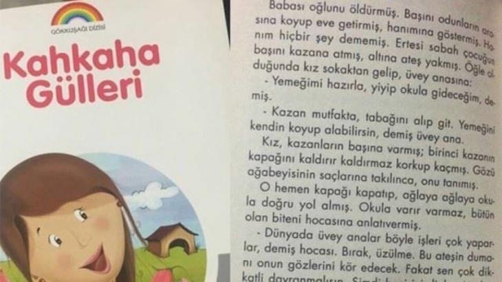 Skandal ifadeler bulunan 'Kahkaha Gülleri' kitabı toplatıldı