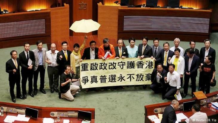 Hong Kong'dan Pekin'e ret