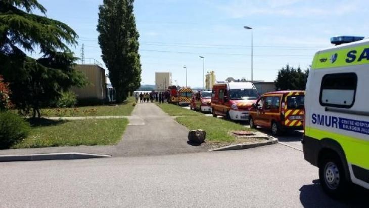 Fransa'da fabrikaya saldırı: Bir kişi başı kesilmiş halde bulundu