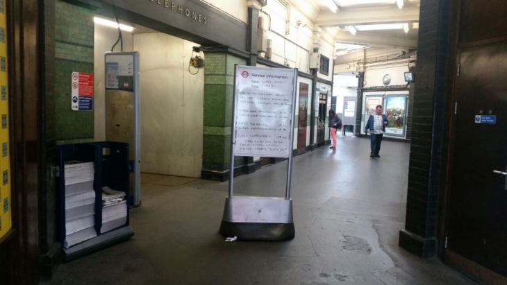 Londra Metrosu'nda 1 ayda ikinci grev