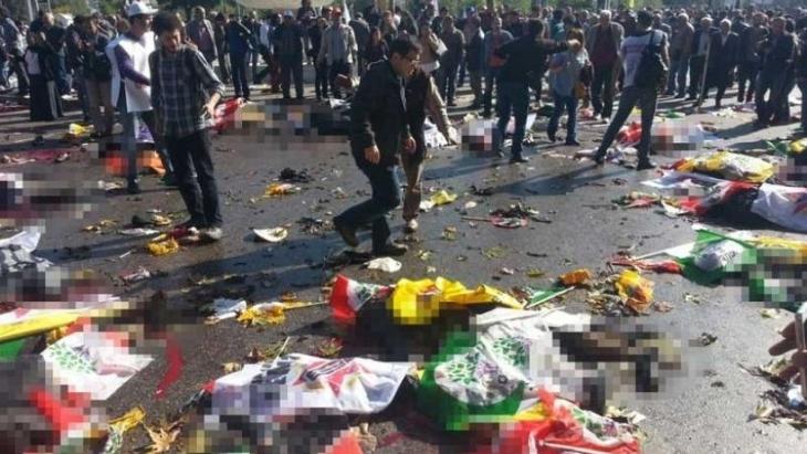 Ankara Katliamı'nda kamu görevlilerine soruşturma yok: 'İhmale dair somut delil bulunamadı'