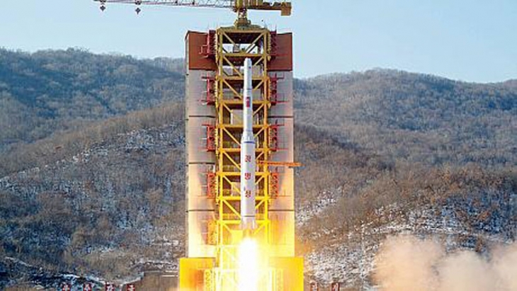 Kore'nin roketi yine rahatsız etti