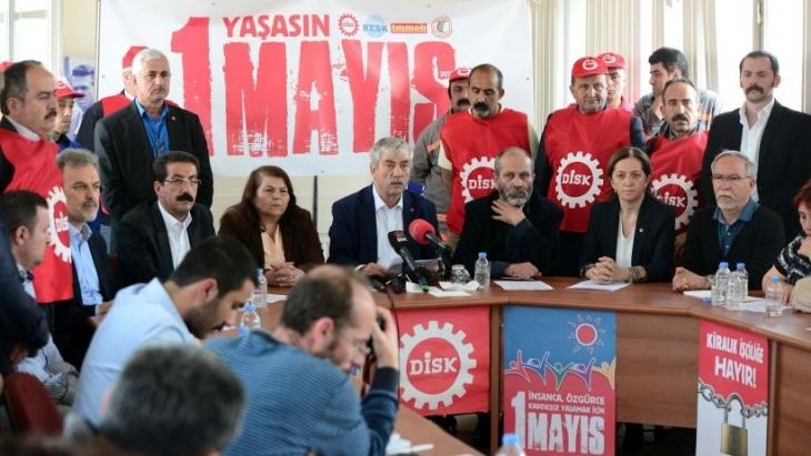 Konfederasyonlar yine Taksim'e sıkıştı