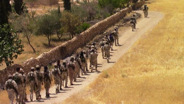 Demokratik Suriye Güçleri Menbic'in merkezine ilerliyor