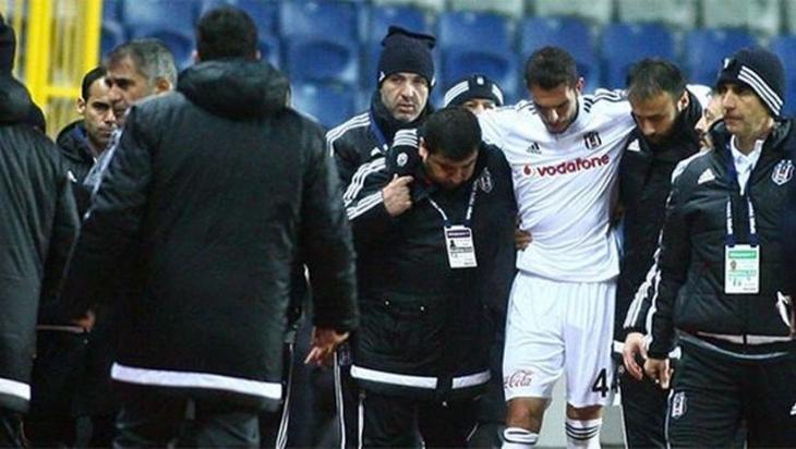 Beşiktaşlı Rhodolfo sezonu kapattı