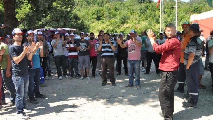 Hema'da madenci direnişi sürüyor