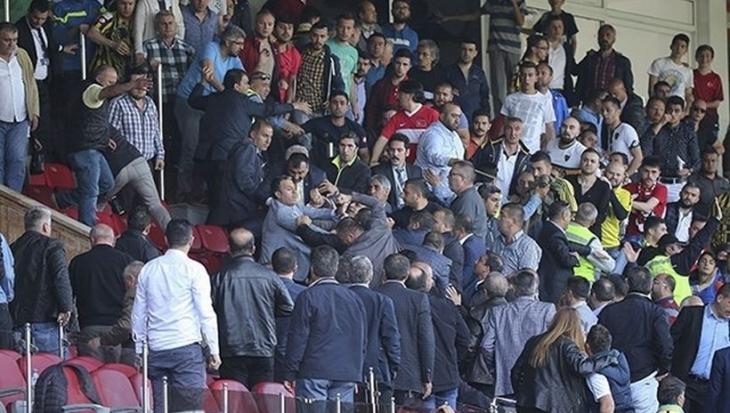 Ankaragücü'ne 3 maç seyircisiz, 2 maç tarafsız saha cezası