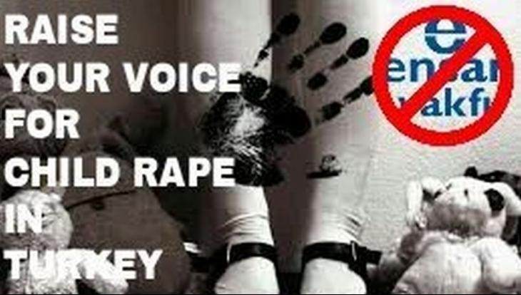 Twitter'da 'Türkiye'de çocuk tecavüzünü durdurun' kampanyası