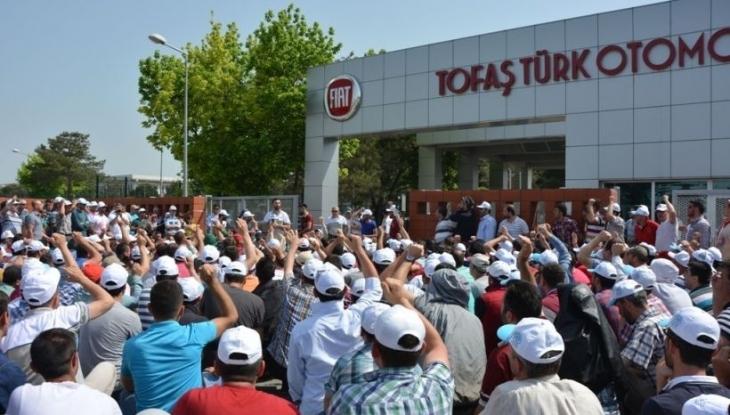 TOFAŞ'ta baskı sürüyor: Taahhütname imzalatıldı