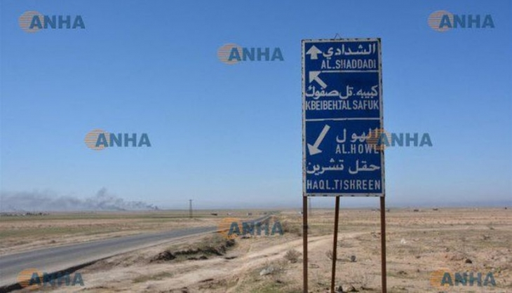 Demokratik Suriye Güçleri, Haseke güneyindeki Şedadi'ye operasyon başlattı