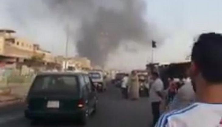 Bağdat'ta pazar yerinde patlama: 3 ölü, 4 yaralı