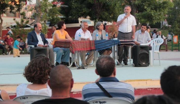 Mamak'ta 'barış' toplantısı: Barış için mücadele yükseltilmeli