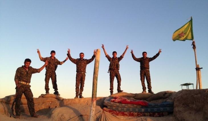 YPG: Son 24 saatte 124 IŞİD'li öldürüldü