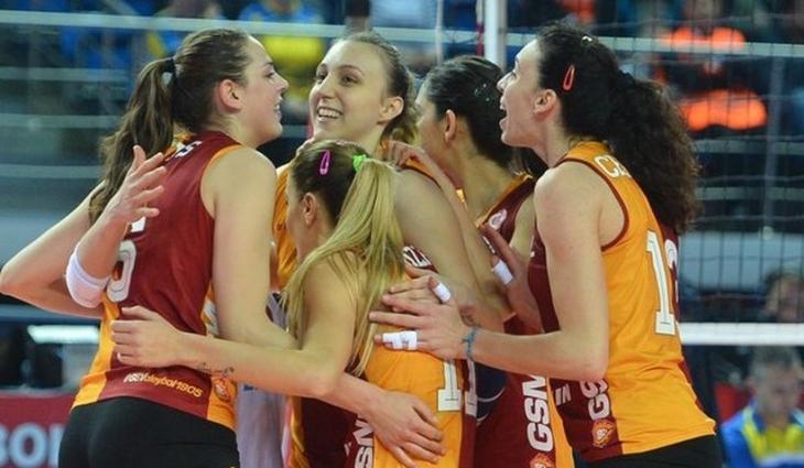 Galatasaray Daikin, CEV Kupası'nda finale yükseldi
