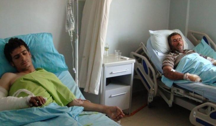 Suruç'a taşınan yaralılar katliamı anlattı
