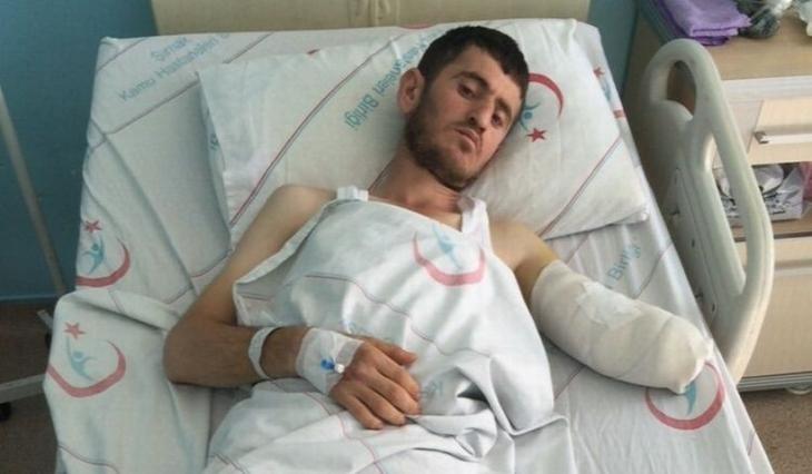 Cizre'de polisin vurduğu işçi kolunu kaybetti: Polis önce 'geç' dedi sonra ateş açtı
