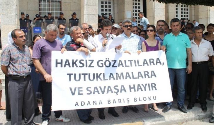 Adana'da hukuksuz gözaltılara suç duyurusu