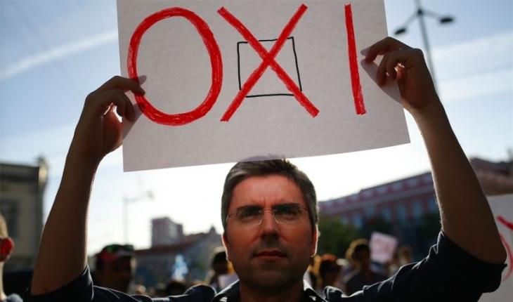 Yunanistan'da halkın 'Hayır'ı, Mecliste 'Evet'e döndü!