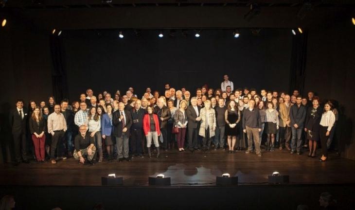 Boğaziçi'nin asırlık tiyatro salonu yenilendi