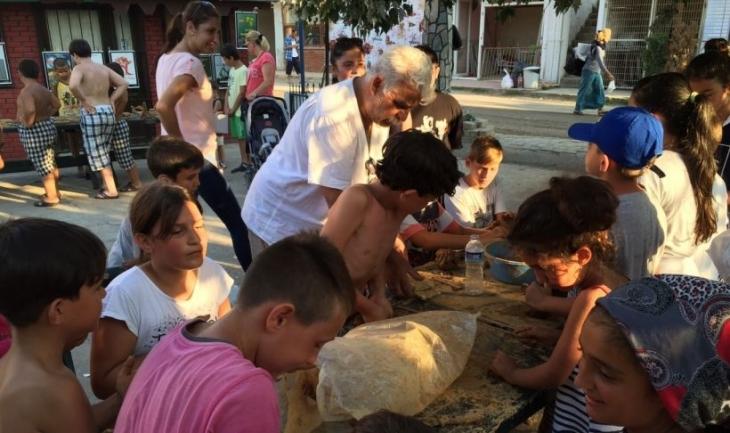 Mudanya Eşkel köyünde halk şenliği