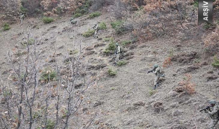 Karakurt'ta çıkan çatışmada 2 asker yaralandı