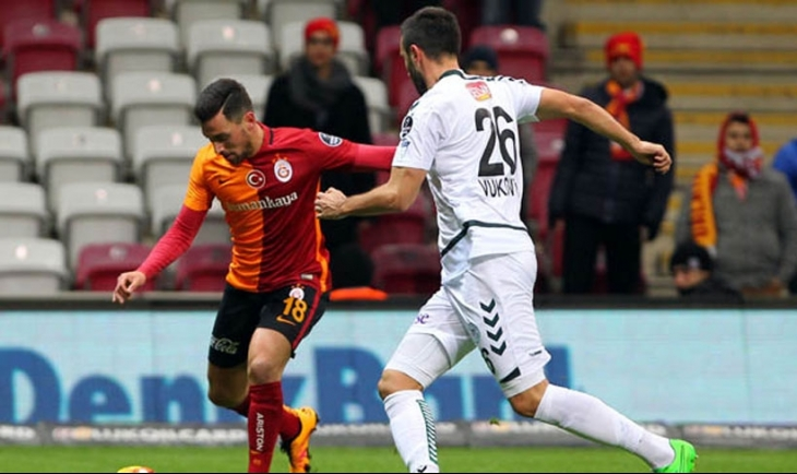 Galatasaray - Torku Konyaspor maçından gol sesi çıkmadı