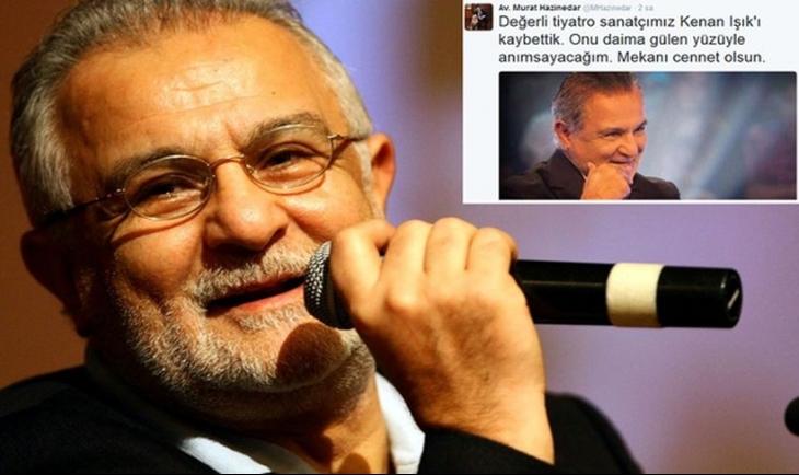 Beşiktaş Belediye Başkanı Hazinedar, 'Kenan Işık'ı kaybettik' dedi, ailesi yalanladı