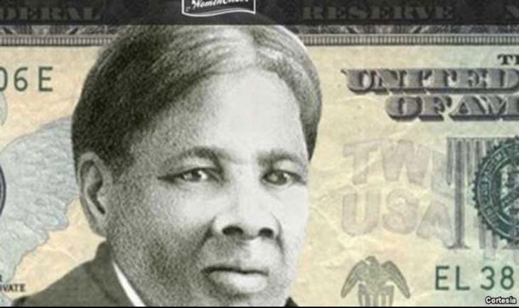 20 dolarlık banknotlarda siyahi kadın eylemci portresi