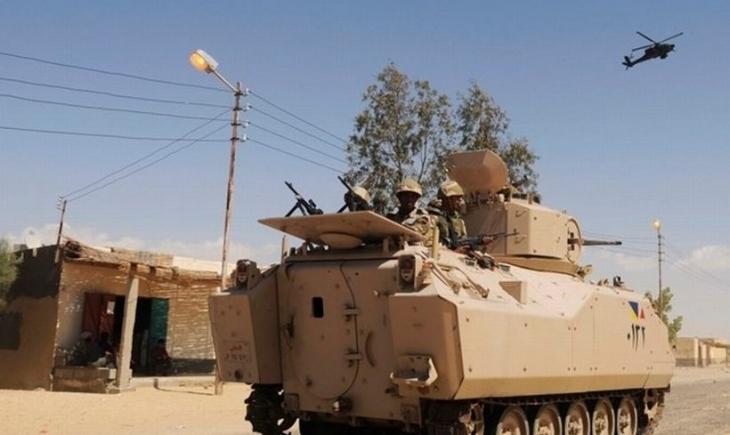 Mısır'da IŞİD, ordu noktalarına saldırdı: 50 ölü