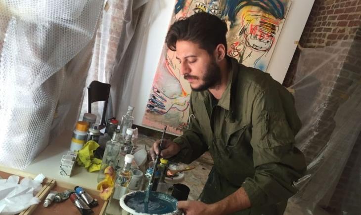İngiliz Ressam Daniel Crews-Chubb: İstanbul  ilham verici bir şehir