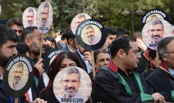 Adalet Bakanı Tahir Elçi için verdiği sözleri tutmadı