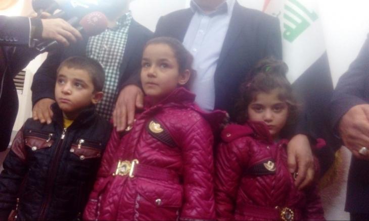IŞİD'den kurtarılan 3 Êzîdî çocuk ailelerine gönderilecek