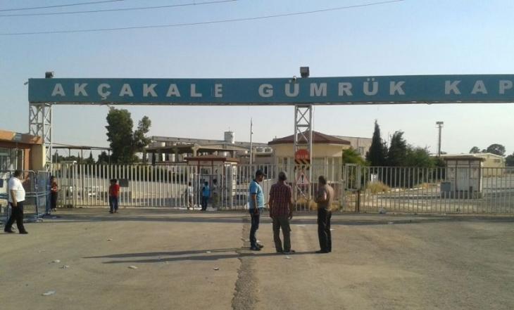Polis, Akçakale sınır kapısından çekildi!