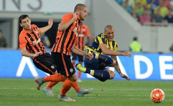 Fenerbahçe, Shakhtar Donetsk'e 3-0 yenilerek elendi