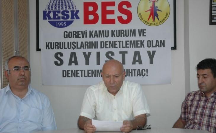 BES'ten Sayıştayda AKP kadrolaşmasına tepki