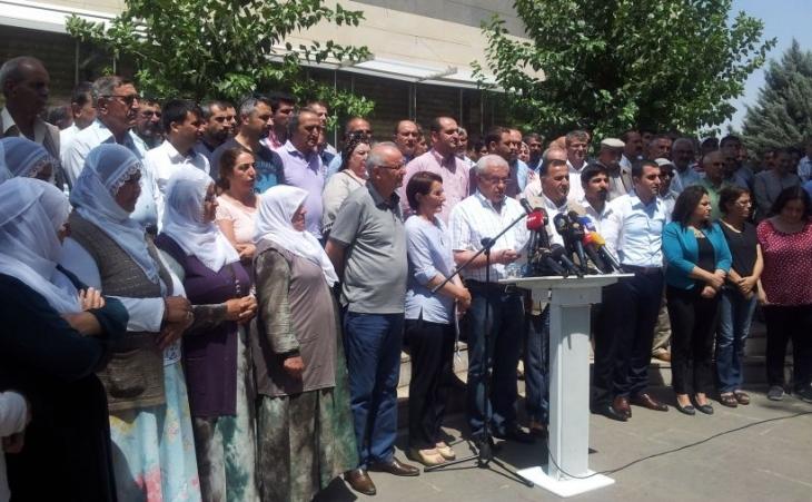 Diyarbakır'da 640 kurumdan ortak deklarasyon: Bütün insanlık bu savaşa karşı durmalı