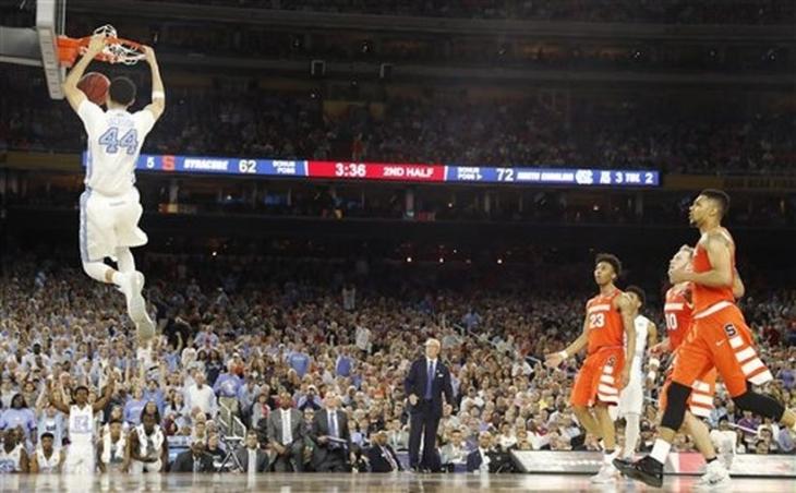 NCAA'de finalin adı North Carolina-Villanova