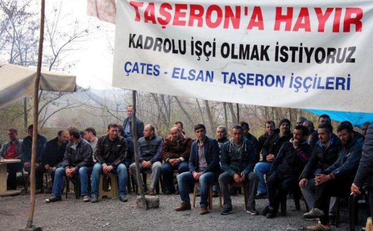 ÇATES taşeron işçileri direnişi bitirdi: 'Hukuki mücadele sürecek'