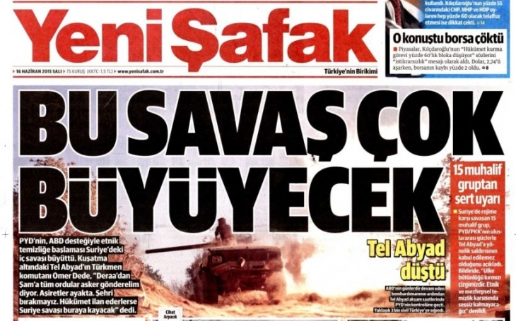 IŞİD düştü, AKP medyası karalar bağladı