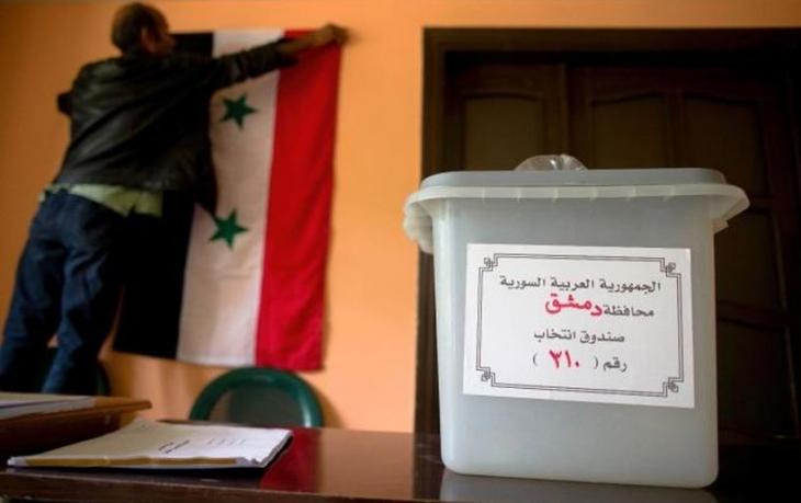 Suriye'de seçim günü