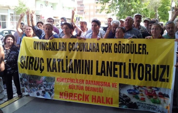 Malatya Kürecikliler Derneği Suruç'u ziyaret etti