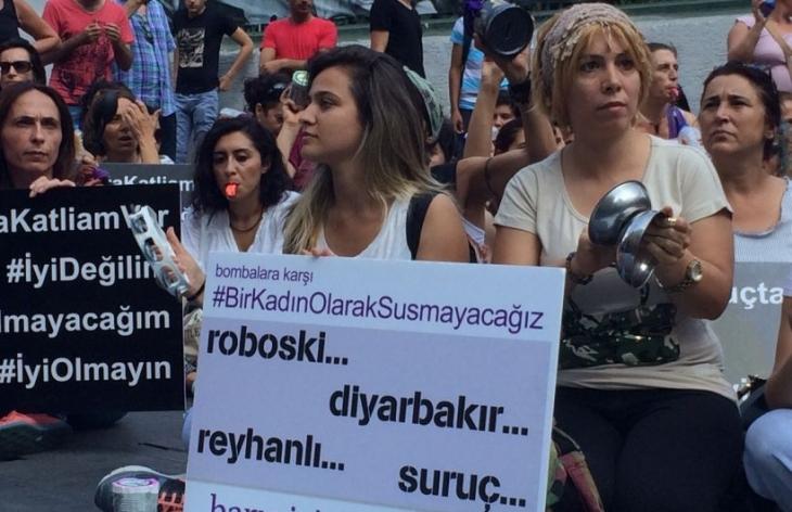 Kadınlar barışa ses verdi: Susmayacağız, barışa ihtiyacımız var